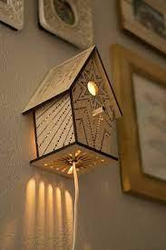 wall mounted warm white night lamp rs