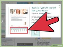 Create Business Flyer How To Create A Flyer Using Microsoft Publisher 11 Steps
