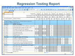 Software Test Report Template Performance Essential Inc Regression ...