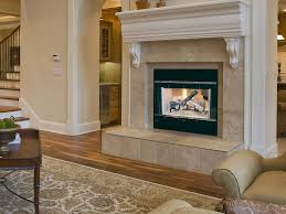 endearing wood fireplace designs 5 white wooden surround