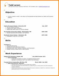 Resume Objective Food Service Luxury Cv Examples Sales Sle