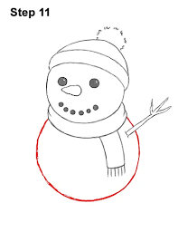 Easy diy snowman christmas ornaments on a budget!!! How To Draw A Snowman