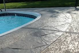 concrete pool deck resurfacing pool deck coating and sealing diy concrete pool deck resurfacing options concrete pool deck