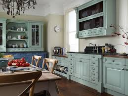 Grey Blue Kitchen Cabinets Amazing Rustic Log Cabin Kitchen Design With Grey Kitchen Cabinets