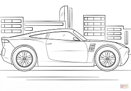 Small Picture Cruz Ramirez from Cars 3 coloring page Free Printable Coloring Pages