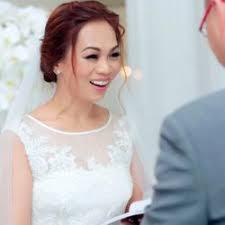 photo of bridal makeup artist wedding hair stylist los angeles ca united