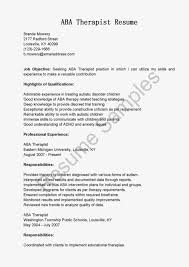 Key Elements Respiratory Therapy Resumes Examples Certified Therapist Resume  Behavior Objective