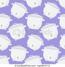 cute cooking wallpaper. Contemporary Cute Rice Cooker Vector Seamless Pattern Intended Cute Cooking Wallpaper T