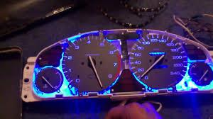 2000 Honda Accord Instrument Panel Lights Honda Accord Ce85 1997 Dashboard Youtube