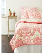 Red - Quilts & Bedspreads | BHG.com Shop & Cottage Home Dalilah Damask Coral Cotton Quilt (Queen), Pink, Size Full Adamdwight.com