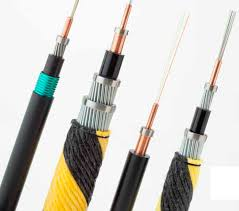 fiber optic cable single core rugged copper