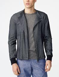 armani exchange technical biker jacket jacket for men a x