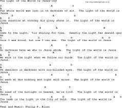 The Light Of The World Is Jesus Lyrics Top 500 Hymn The Light Of The World Is Jesus Lyrics