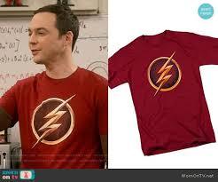 sheldon flash equation t shirt