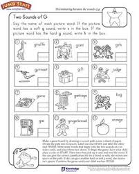 Phonics worksheets and online activities. Two Sounds Of G English Pronunciation Worksheets For Kids English Worksheets For Kids Phonics Worksheets Worksheets For Kids