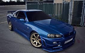 nissan skyline 2014 blue. Wonderful Nissan Wallpaper Nissan Skyline Gtr R34 Blue Cars Auto Automobile Intended Skyline 2014 T