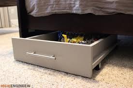 under bed storage furniture. diy under bed storage plans rogue engineer 2 furniture