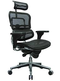 high back mesh office chair with leather effect headrest. ergohuman high back swivel chair with headrest, black mesh \u0026 chrome base office leather effect headrest s
