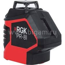 <b>Лазерный нивелир RGK PR-81</b> — купить по цене 8 789 руб ...