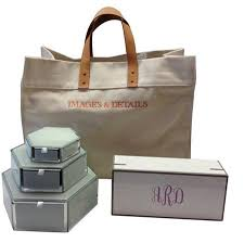 monogrammed gift items