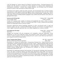 Chronological GIS Analyst Resume Page4