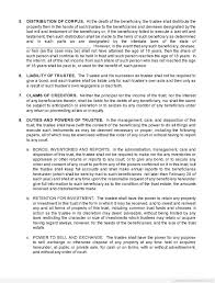 Free Printable Trust Agreement Form Printable Real Estate Forms