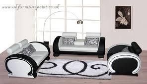 white italian furniture. Furniture Wonderful Black And White Leather Sofa Italian 3 2seater Set T