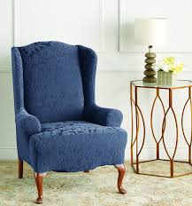 blue chair slipcover. Unique Chair On Blue Chair Slipcover A