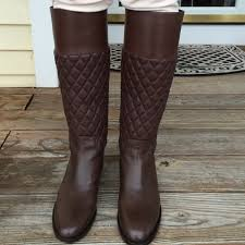 55% off Michael Kors Boots - New Michael Kors Brown quilted boots ... & New Michael Kors Brown quilted boots Adamdwight.com