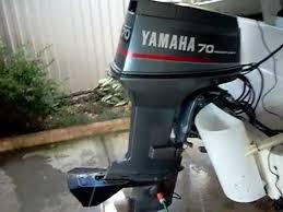 yamaha 70. yamaha 70 hp outboard beto cold start.mov o