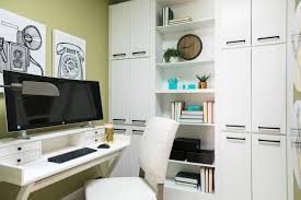 desk home office 2017. Photo By: Robert Peterson; Rustic White Photography Desk Home Office 2017 R