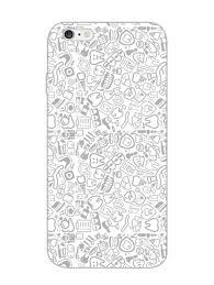 Designer Mobile Phone Covers India Dental Pattern For Dentists Designer Mobile Phone Case