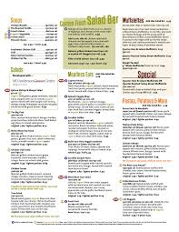 the restaurant information including the jason s deli menu items and s may have been modified since the last update