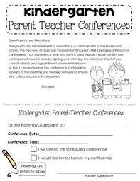 parent teacher conference letters parent teacher conference letter by katie mueller tpt