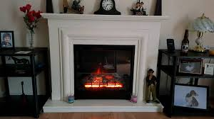 avensis se electric fireplace suite 1 2 kw thermostat control led flame switch ex condition
