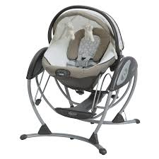 Amazon.com : Graco Soothing System Baby Glider, Abbington, One Size ...