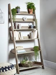 furniture ladder shelves. new rustic wooden ladder shelf wide furniture shelves