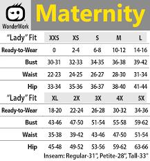 A Glow Maternity Size Chart 145 Wonderwork Maternity Mock Wrap Scrub Tops Scrubscanada Ca