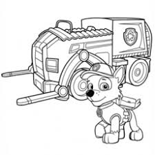 Crafty Rocky Paw Patrol Coloring Page Awesome Pages Printable Coloring
