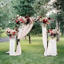best 25 vintage wedding arches ideas on backyard wedding decorations backyard weddings and wedding arbor decorations