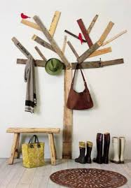 How To Make A Coat Rack Tree Two Decorative DIY Projects Even I Could Do Coat racks Coat tree 15