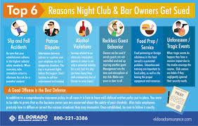 6 Sued Bar Infographic Club amp; Owners Night Top Reasons Get zqRRwH