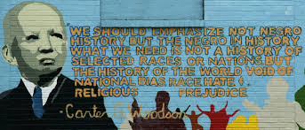 a new generation of voices takes back black history month  carter g woodson mural in washington d c photo by the father of black history month