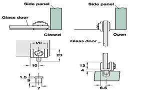pivot hinge door. 90 degree glass door pivot hinge for inset doors
