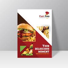 Flyer Design Food Fast Food Flyer Design Free Mock Up Psd On Behance