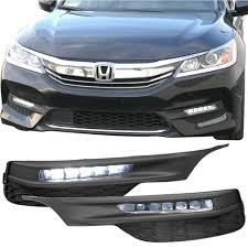 2018 Accord Fog Light Kit For Honda Accord 06 07 4dr Oe Bumper Smoked Fog Light Lamp