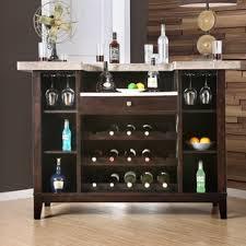 du0027amato transitional bar table with wine storage wine rack bar table46 wine