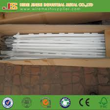 white fence post. 1.2m White Plastic Stake Electric Fence Post For Livestock Made In China E