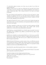 Cover Letter For Medical Assistants Medical Assistant Resume Cover ...