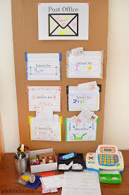 office play. Post Office Play - Use Our Free Printables To Set Up Your Own Complete